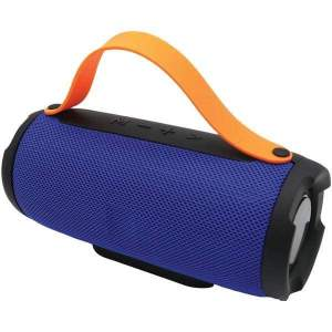 Bluetooth(R) Portable Speaker with Built-in Strap (Blue) - Personal Electronics
