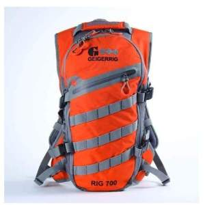Geigerrig Rig 700M Hydration System Orange-Gunmetal - Hiking Backpacks