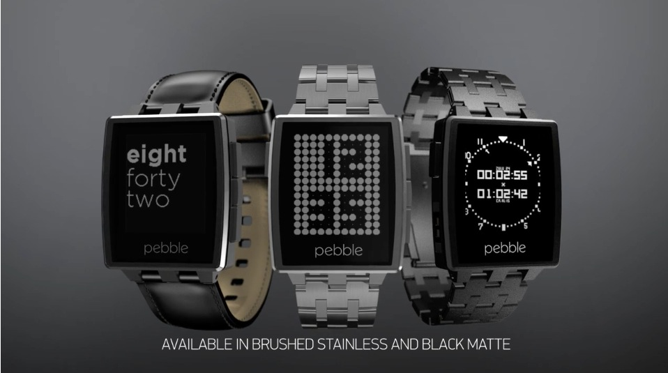 Pebble Steel – neue Smartwatch von Pebble auf CES ...