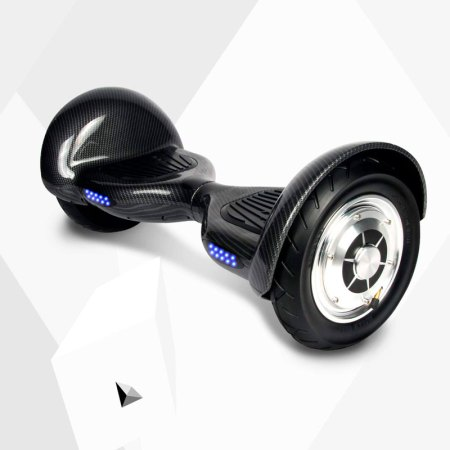 Smart-Wheels-10-pulgadas-Negro-Carbon-inclinado