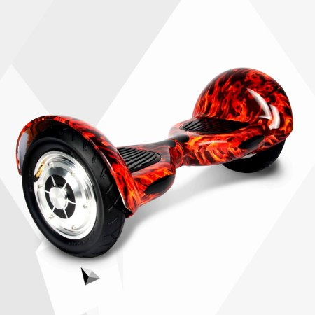Smart-Wheels-10-pulgadas-Rojo-Fuego-inclinado