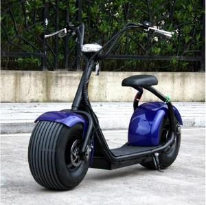 Harley Electrica Azul - Smart Wheels