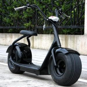 Harley Electrica Negra - Smart Wheels