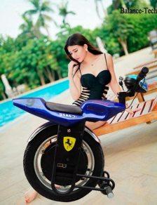 Monociclo Eléctrico Inteligente Gyroscooter Azul