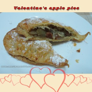 Valentines Apple Pies 2