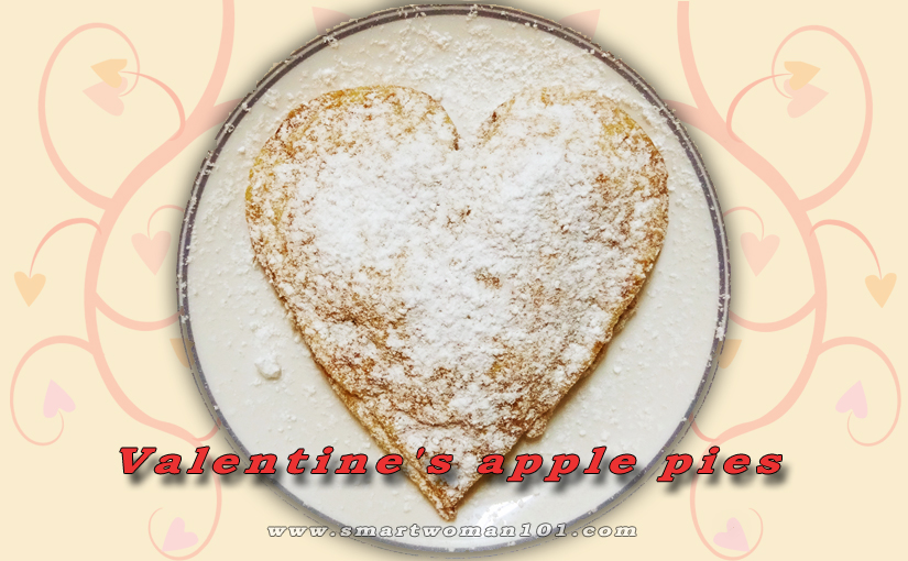 Valentine's Apple Pies