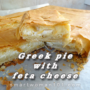 GREEK PIE FETA CHEESE 1