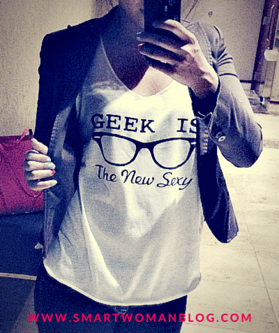 geek is the new sexy shirt