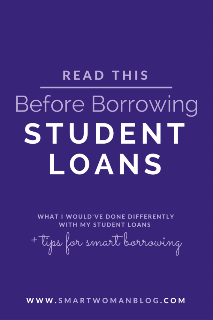 read this before borrowing student loans