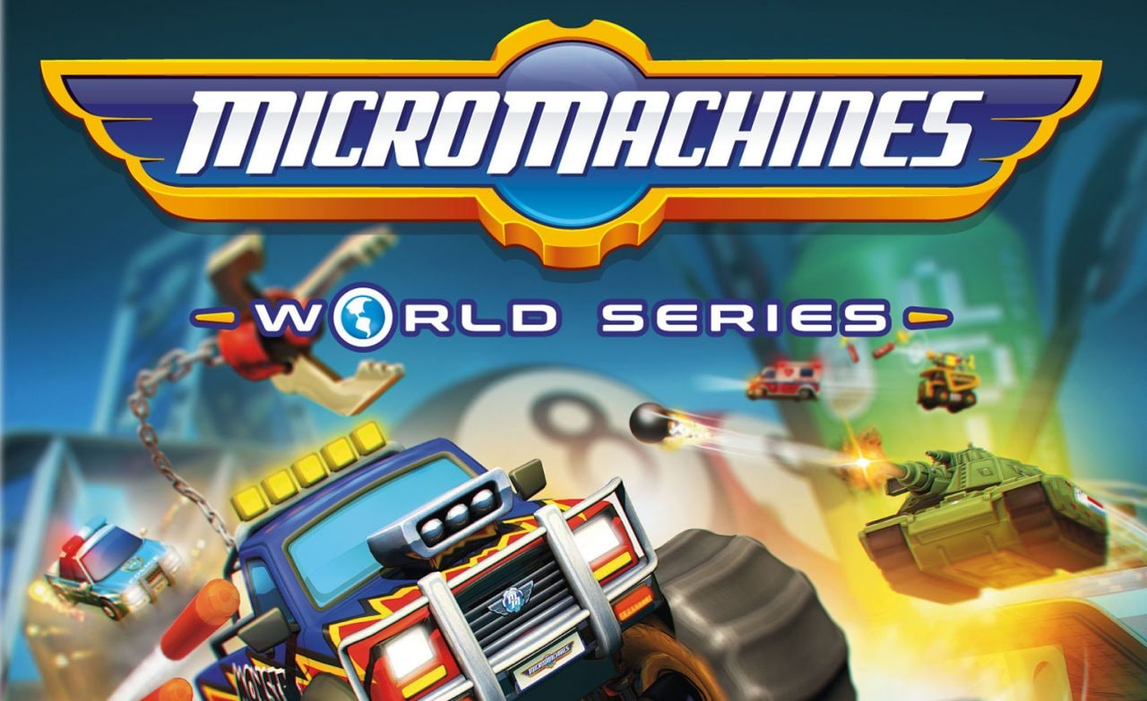 Micro Machines World Series Ufficiale In Arrivo Su PC