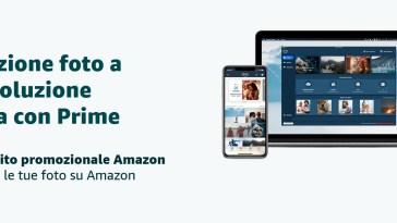 Buono Amazon da 8€ in regalo con Amazon Photos: caricate le vostre foto e risparmiate sugli acquisti