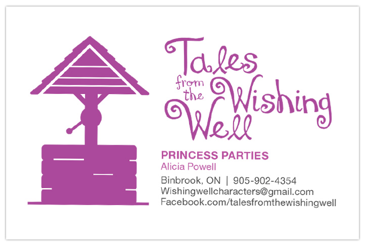 Tales from the Wishing Well Business Cards