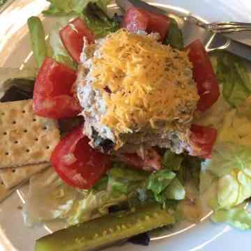 tuna stuffed tomato