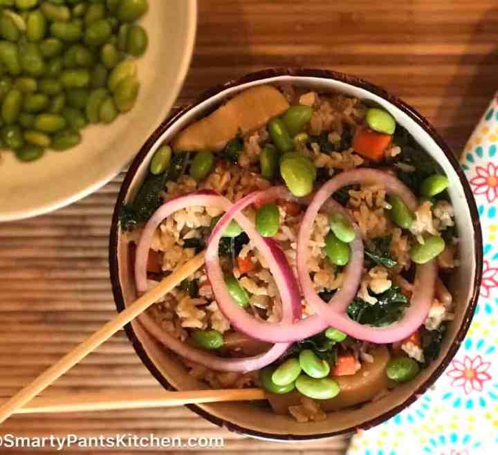 Gluten-Free Vegetarian Rice Bowl