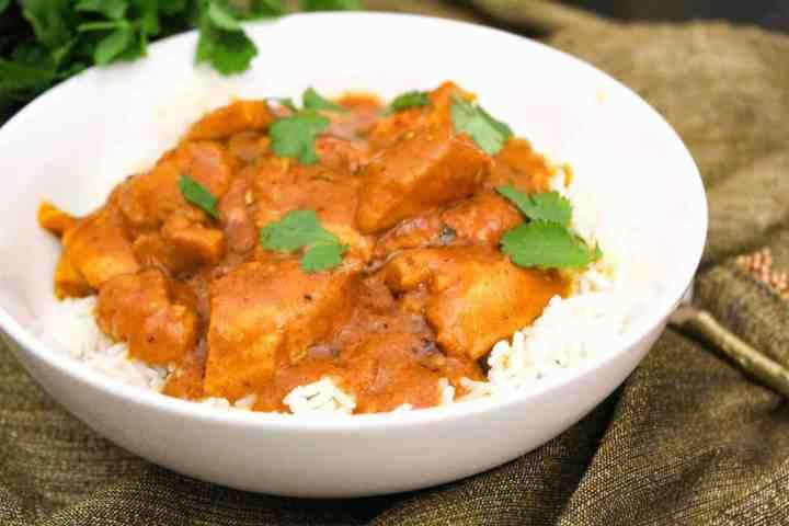 Indian Butter Chicken (Murg Makhani)