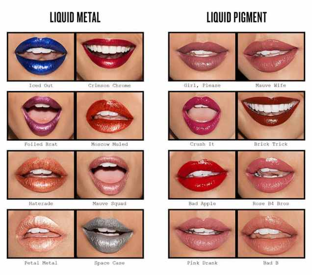 These matte lipstick colors from Smashbox are amazing!
