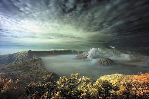 Cloudy Bromo