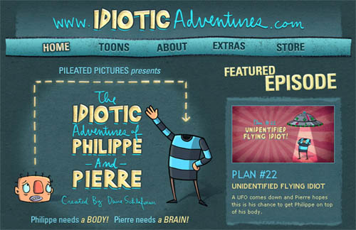 The Idiotic Adventures of Philippe and Pierre