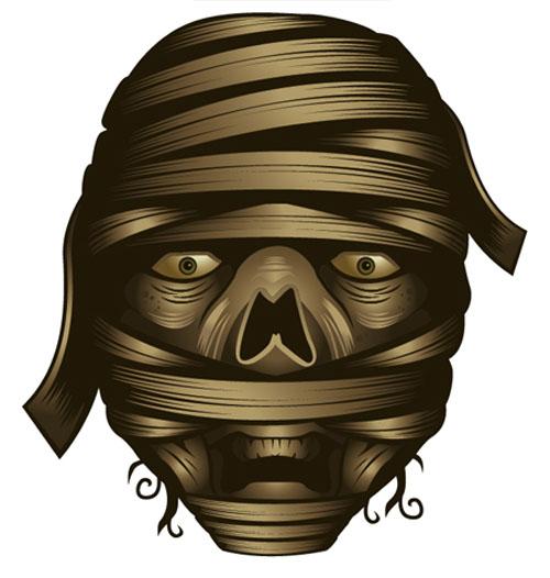 Adobe Illustrator Mummy Gradient Tutorial