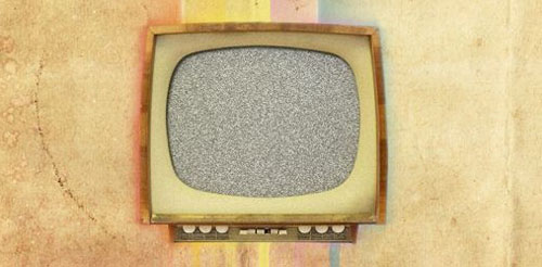 Create a Texture Based Vintage TV Poster in Photoshop