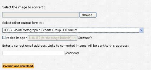 Online image converter for free