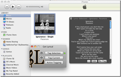Automatically Add Lyrics To All Songs In Your iTunes Library [How To]