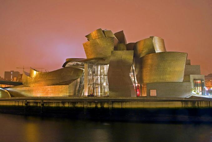 googenheim museum bilbao 30 Smashing Examples of Architectural  Photography