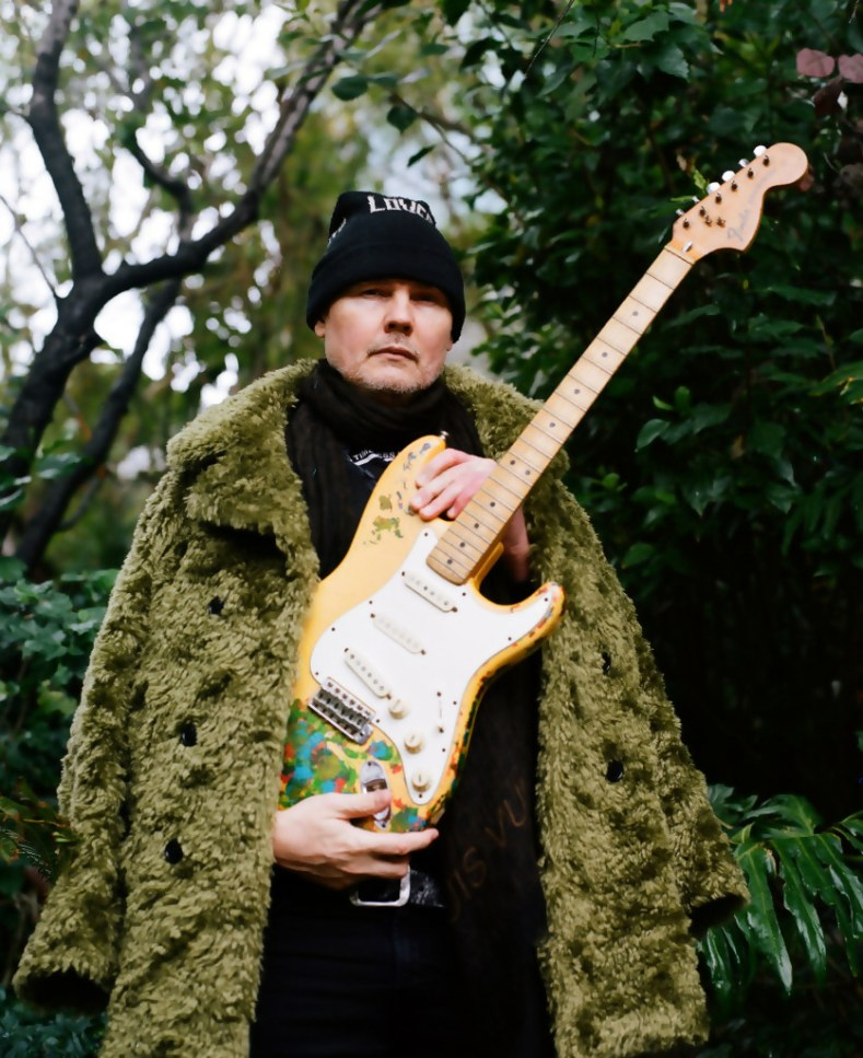 Billy Corgan with Gish guitar