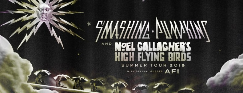 Smashing Pumpkins and Noel Gallagher's High Flying Birds summer tour 2019 with special guests AFI