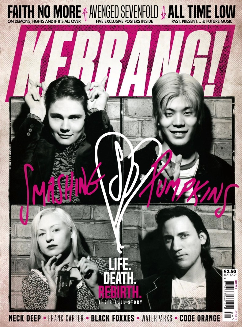 Smashing Pumpkins Magazine Cover