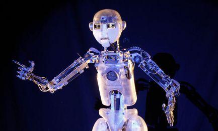 Robothespian humanoid robot