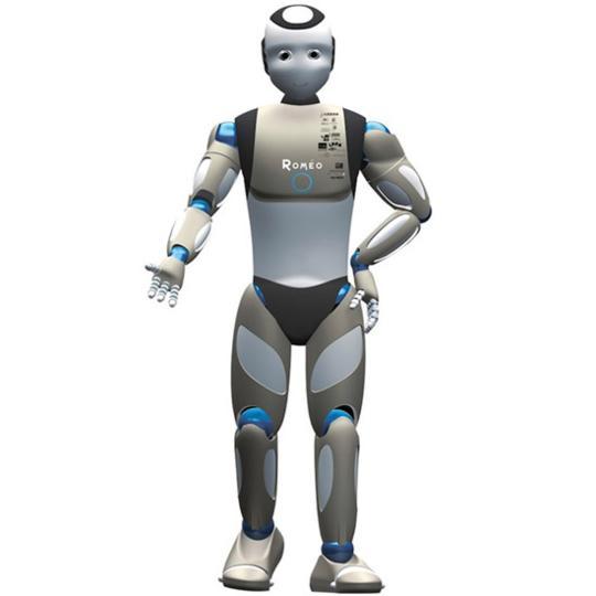 Romeo humanoid robot
