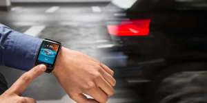 BMW i3 and Galaxy Gear
