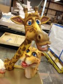 3d animal props for kids theme