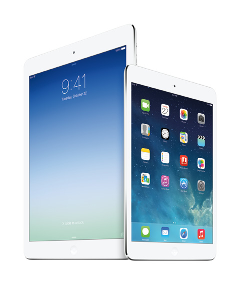 iPad Air iPad mini with Retina Display