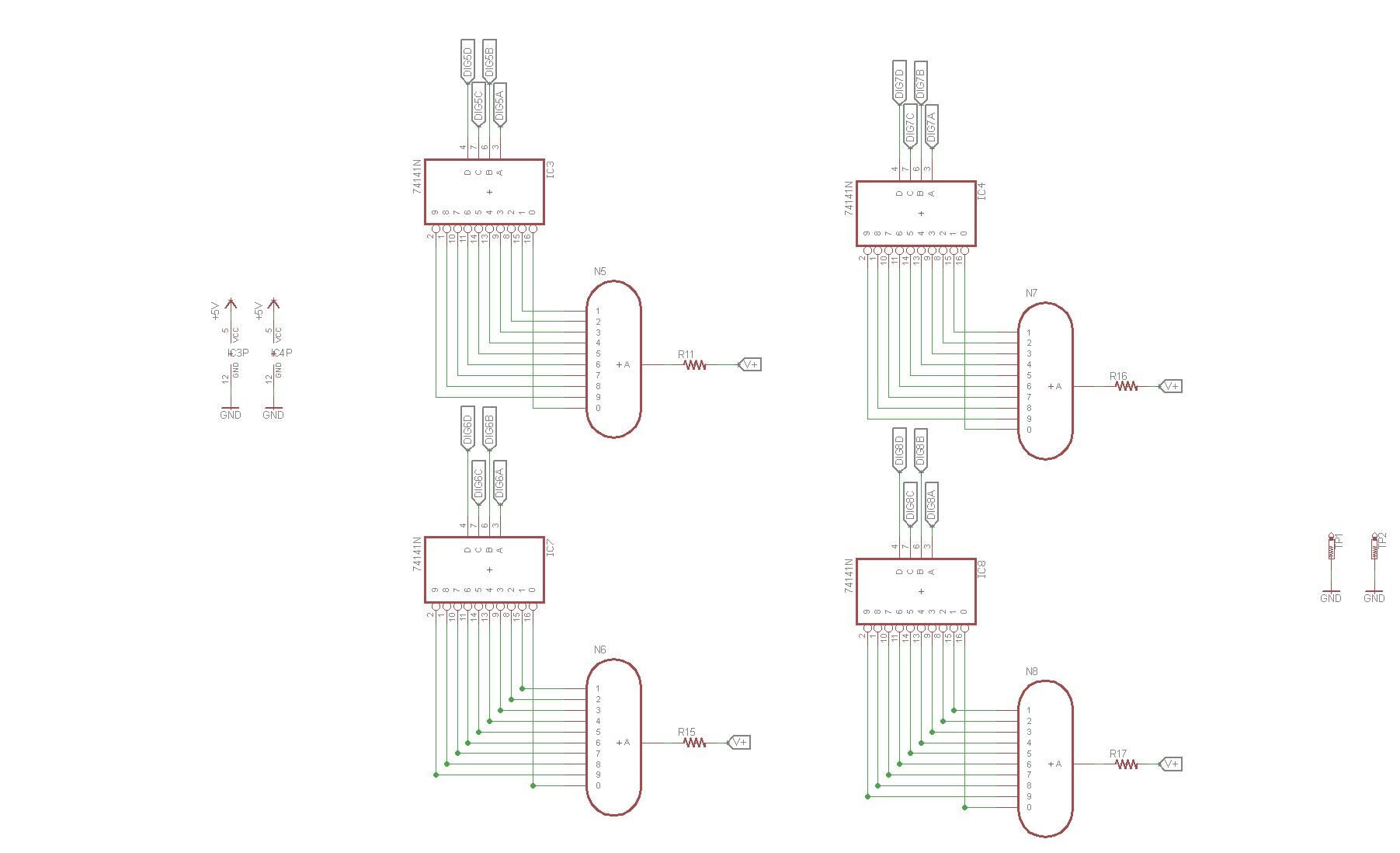 The Nixie Tube Filadometer A Nixie Tube Filament Meter
