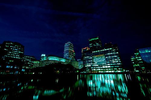 Docklands London UK