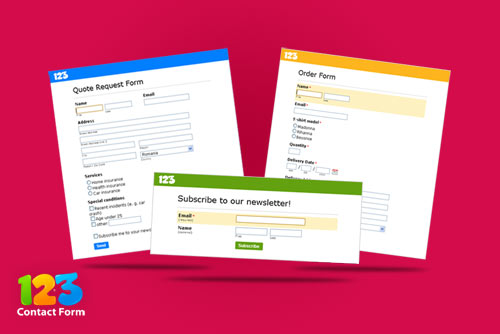 Online small business forms