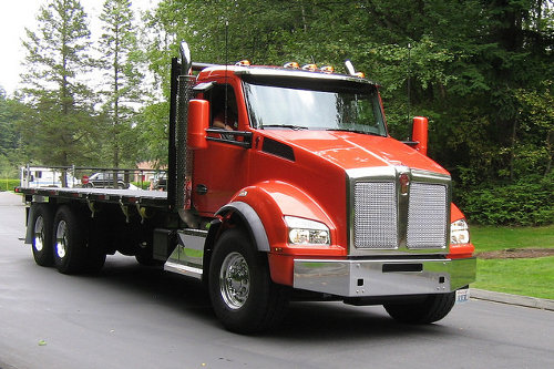 Kenworth T880 Flatbed