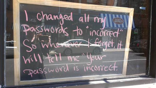 Incorrect password funny