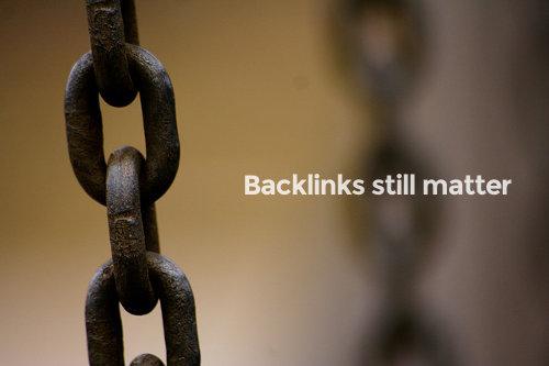 Backlinks still matter