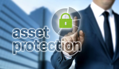 Asset protection legal concept