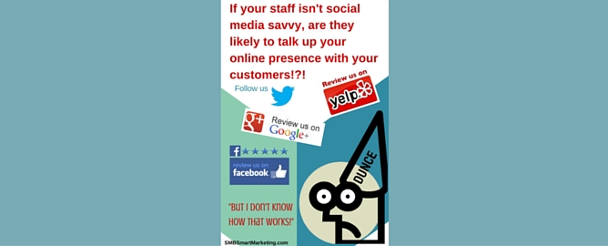 """""""My Staff Doesn't DO Social Media"""" is Killing Your Social Media Potential"""