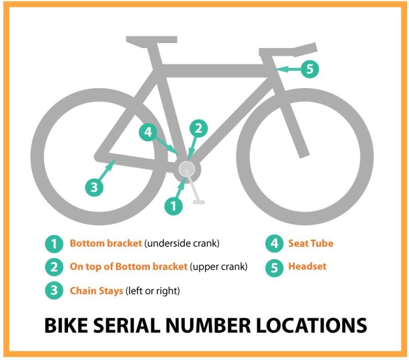 bike frame serial number   flowerxpict co
