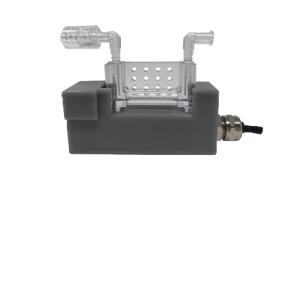 disposable in line flow meter sensor