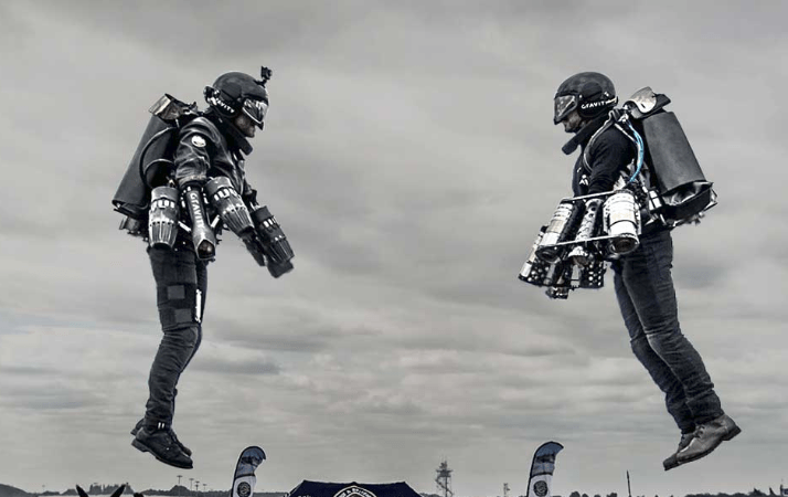 jet suit from gravity industries