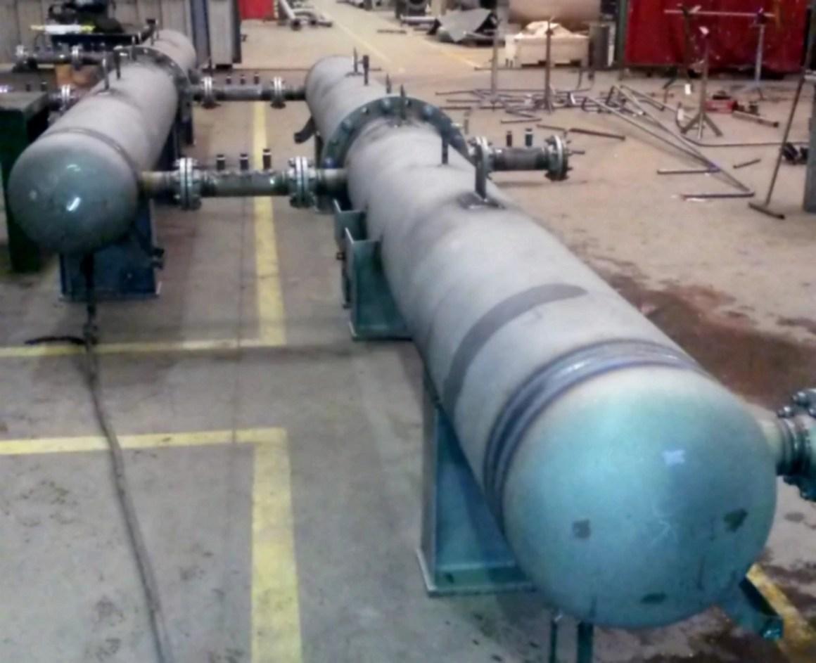 11 Calandres d'échangeurs thermiques