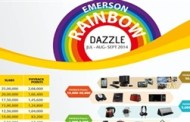 Emerson Network Power's 'Rainbow Dazzle' Launched