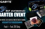 GIGABYTE G1 Gaming Barter Event for Facebook Fans