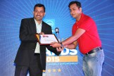 MR. SUNIL SHARMA VP SALES OPERATIONS INDIA SAARC SOPHOS IS GIVING AWARD OF THE BEST INKJET PRINTER TO EPSON INDIA